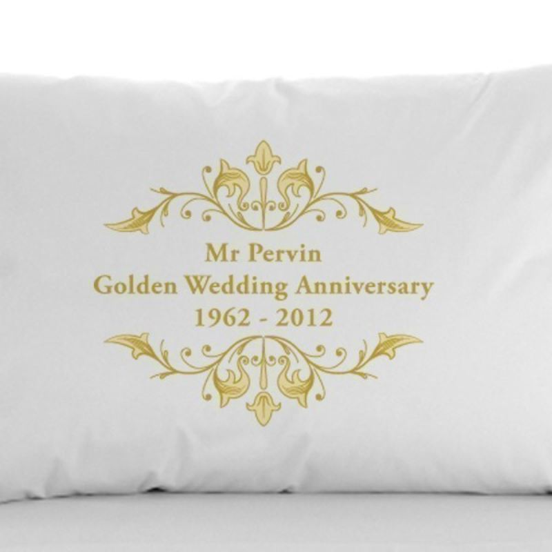 Golden Anniversary Pillowcases product image