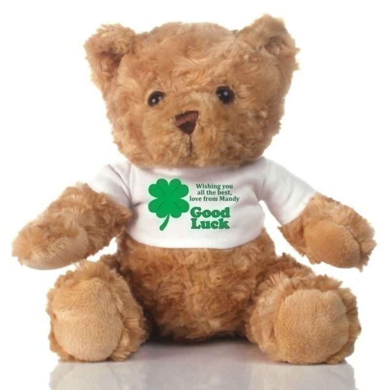 Good Luck Personalised Teddy Bear product image