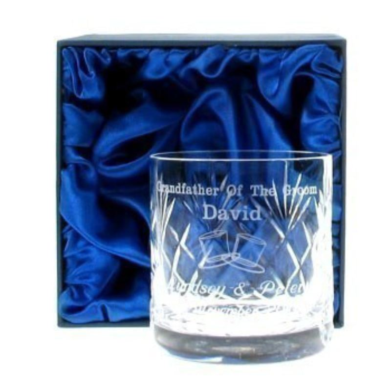 Grandfather of the Groom Whisky Glass product image