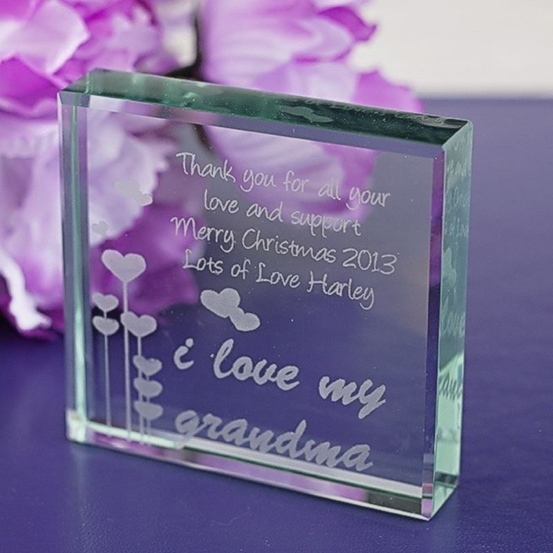 Grandma Glass Keepsake product image