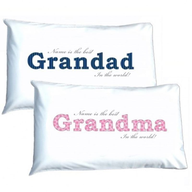 Grandparents Personalised Pillowcases product image