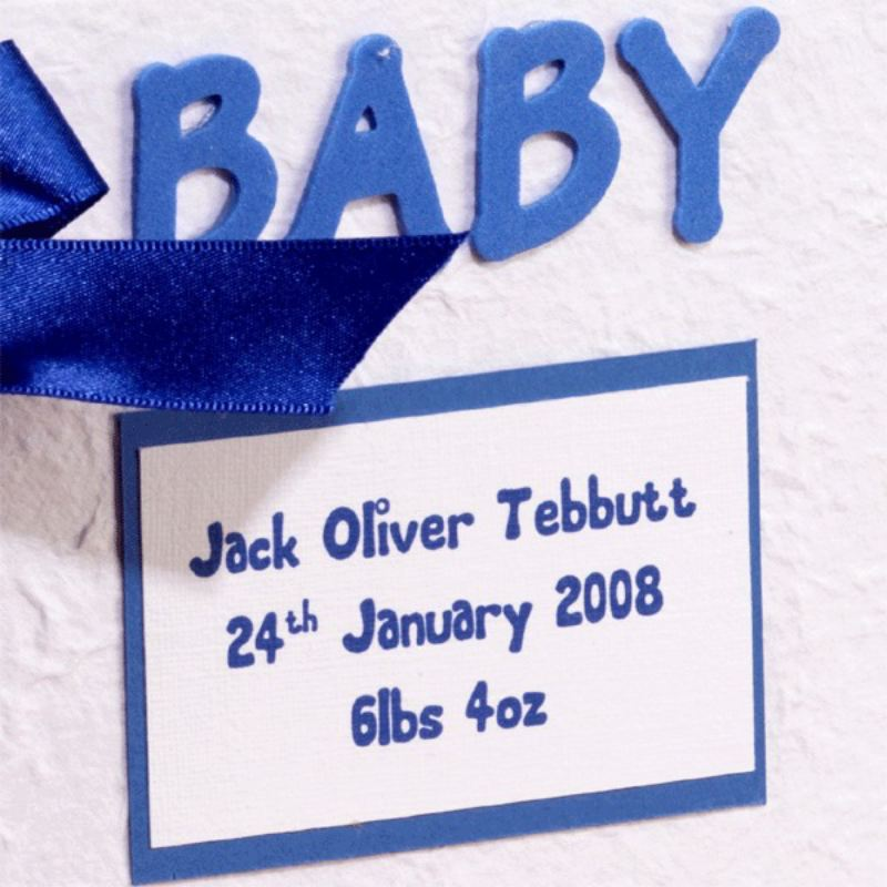 Handmade Personalised Baby Album product image