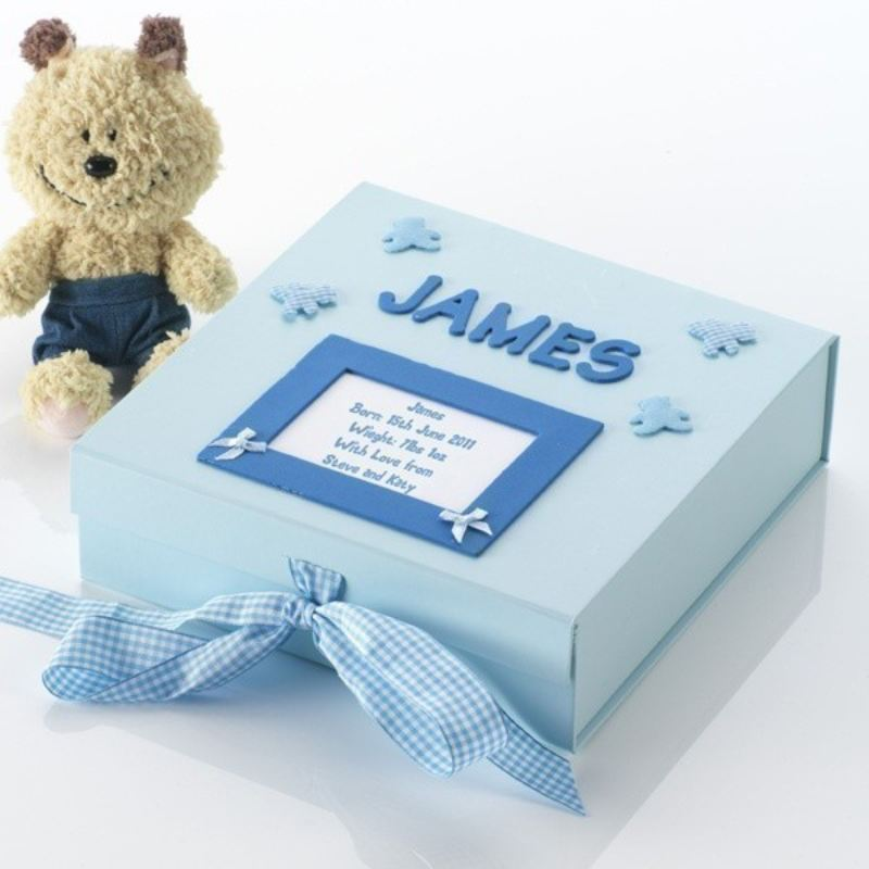 Handmade Personalised Baby Memory Box product image