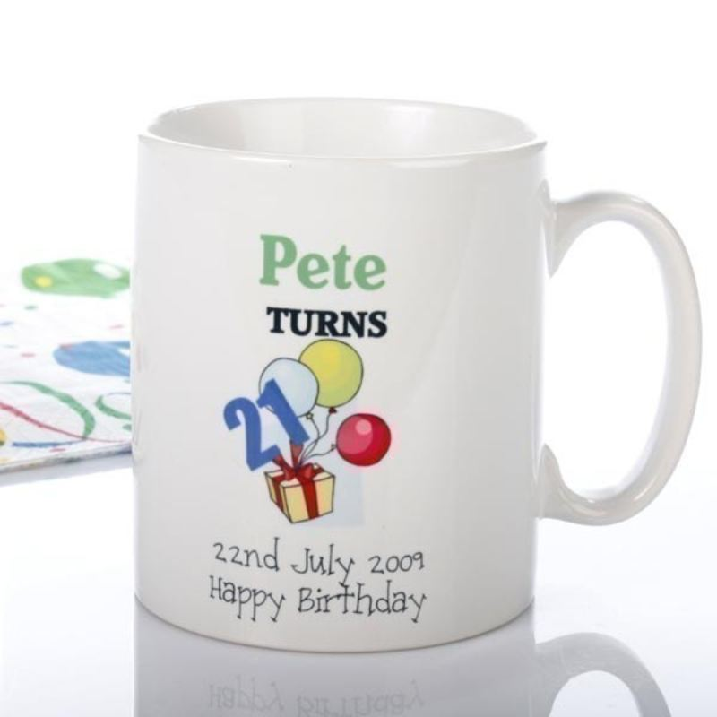 Happy Birthday Personalised Mug product image