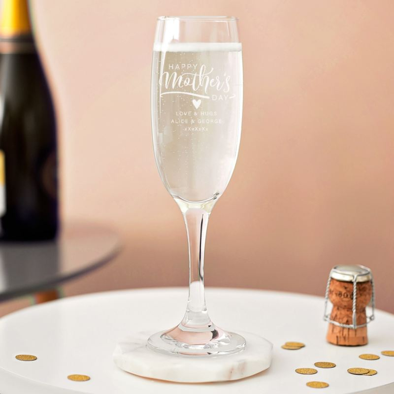 Personalised Mother's Day Prosecco Glass product image