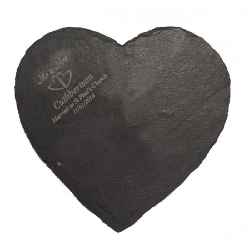 Heart Slate Cheese Board product image
