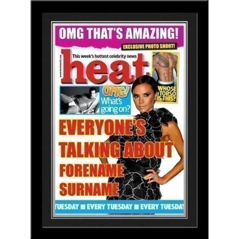 Heat Magazine Cover - Personalised product image