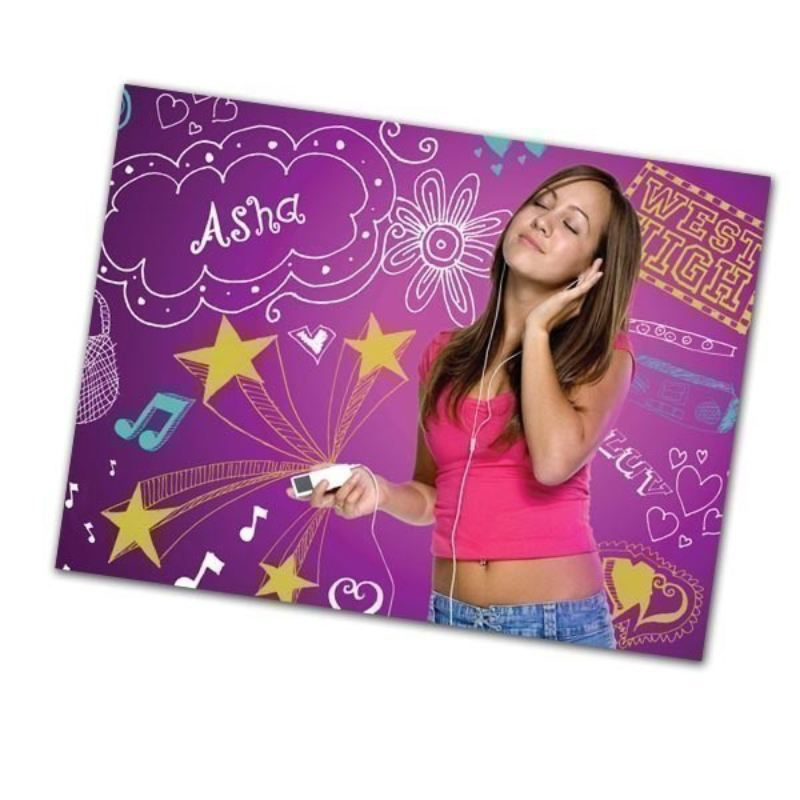 High School Music Girl Personalised Framed Poster product image