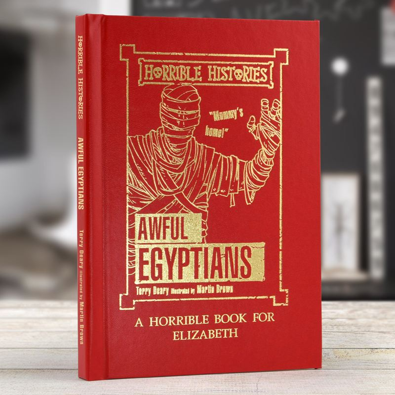 Horrible Histories Awful Egyptians - Personalised Book product image