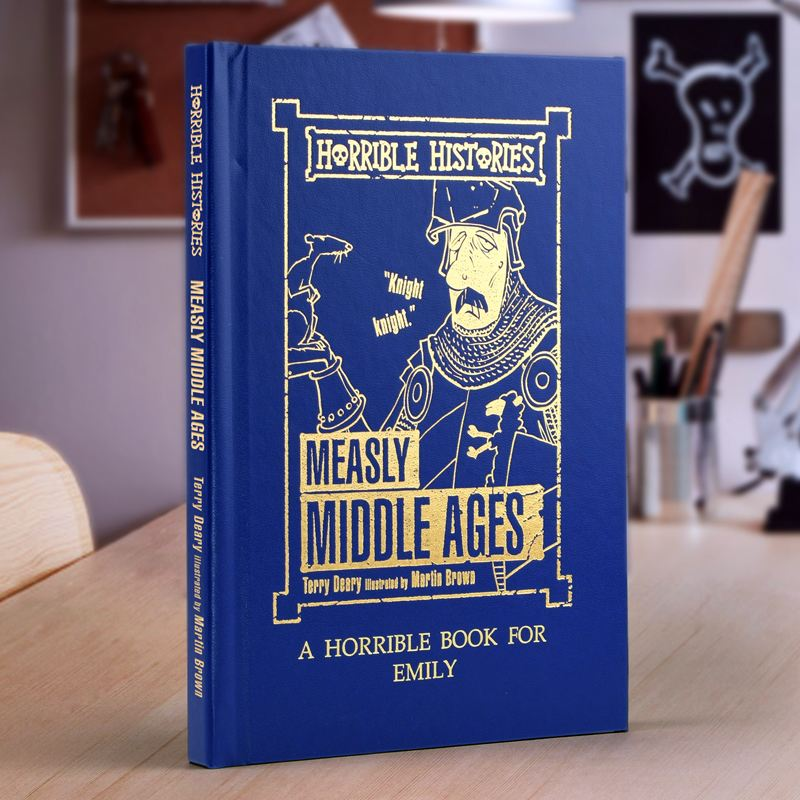 Horrible Histories Measly Middle Ages - Personalised Book product image