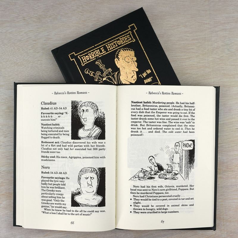 Horrible Histories Rotten Romans - Personalised Book product image