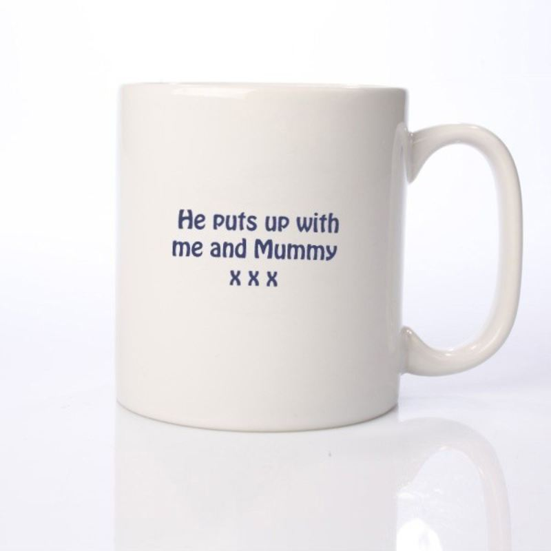 I Love My Dad Because - Personalised Mug product image
