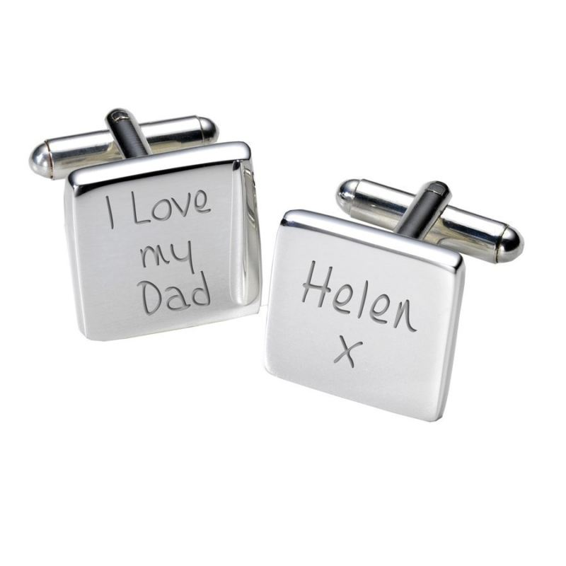 I Love My Dad Cufflinks - Square product image