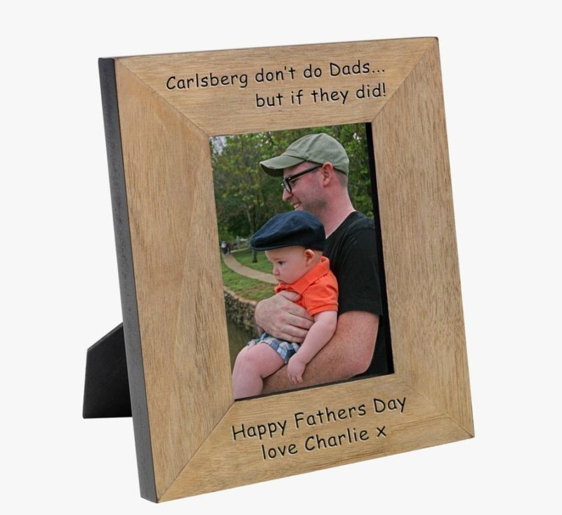 If Carlsberg did Dads Wood Photo Frame 6 x 4 product image