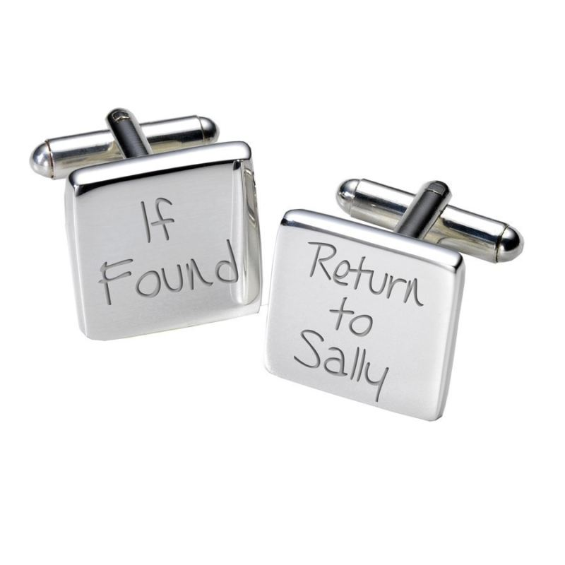 If Found Cufflinks - Square product image