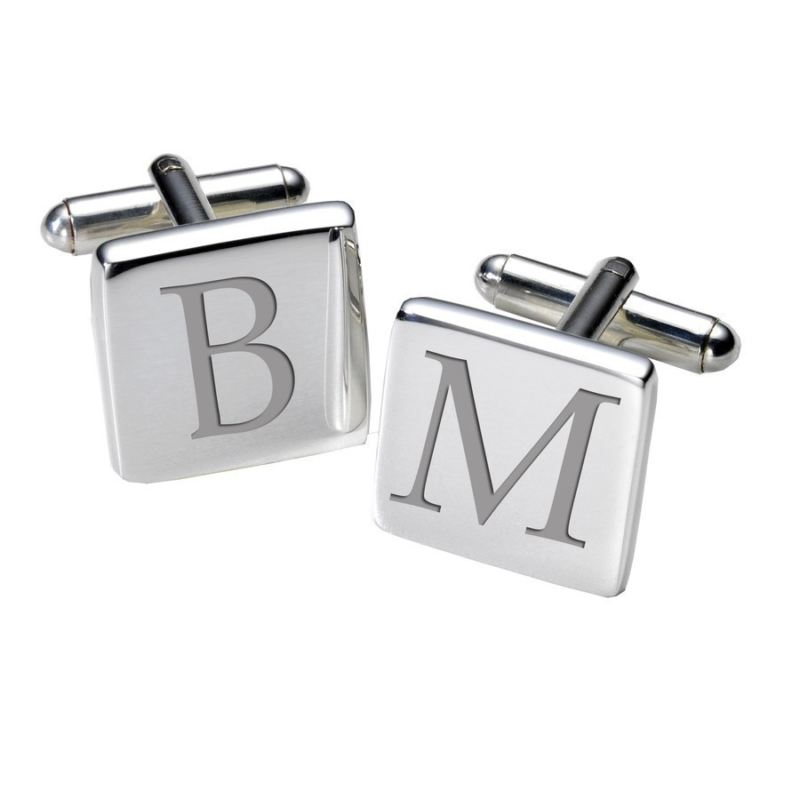 Initial Cufflinks - Square product image