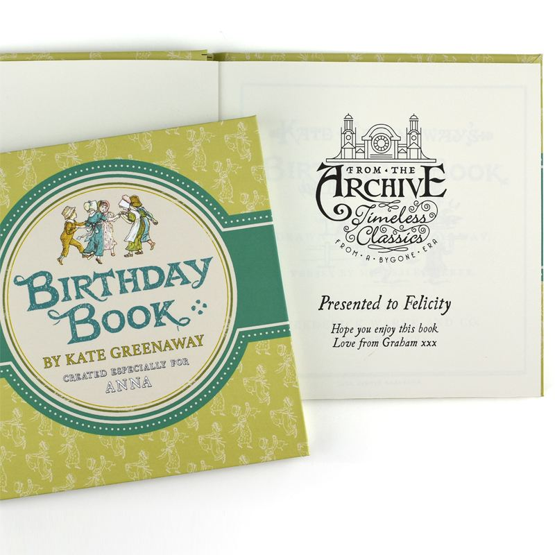 Kate Greenaway Birthday Book product image