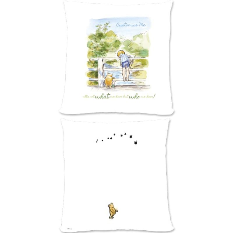 Personalised Disney Winnie The Pooh Bridge Large Cushion product image