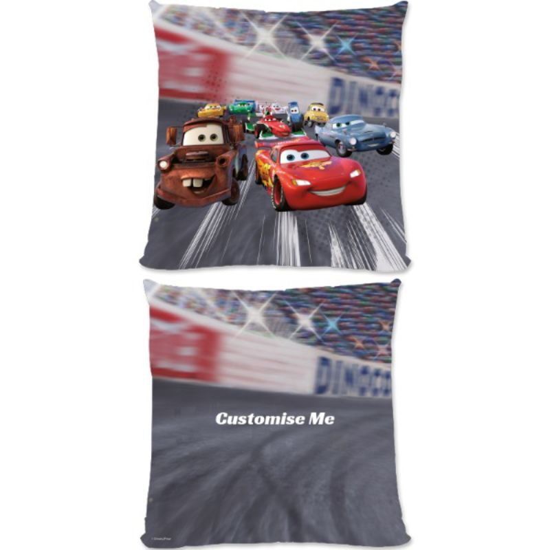 Personalised Disney Cars Lightning McQueen Large Cushion product image