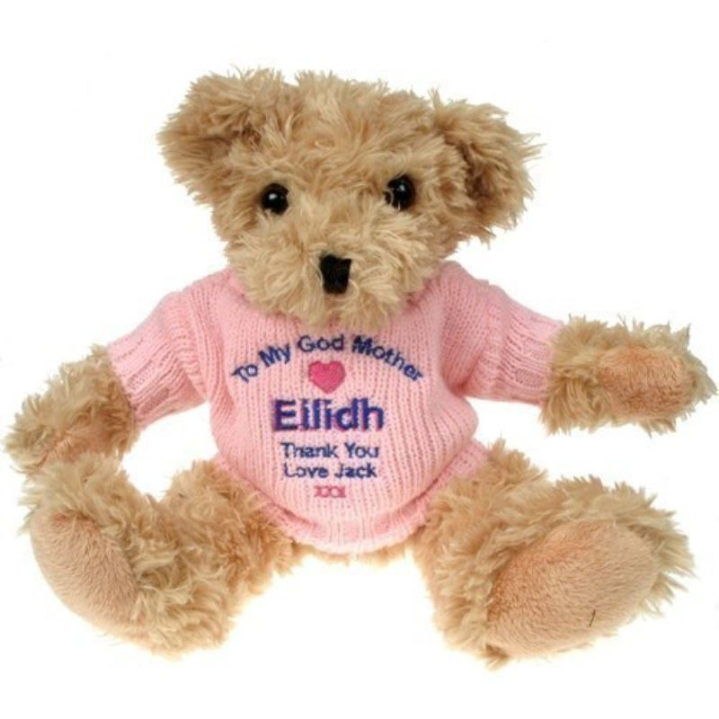 Light Brown Teddy Bear: God Mother product image