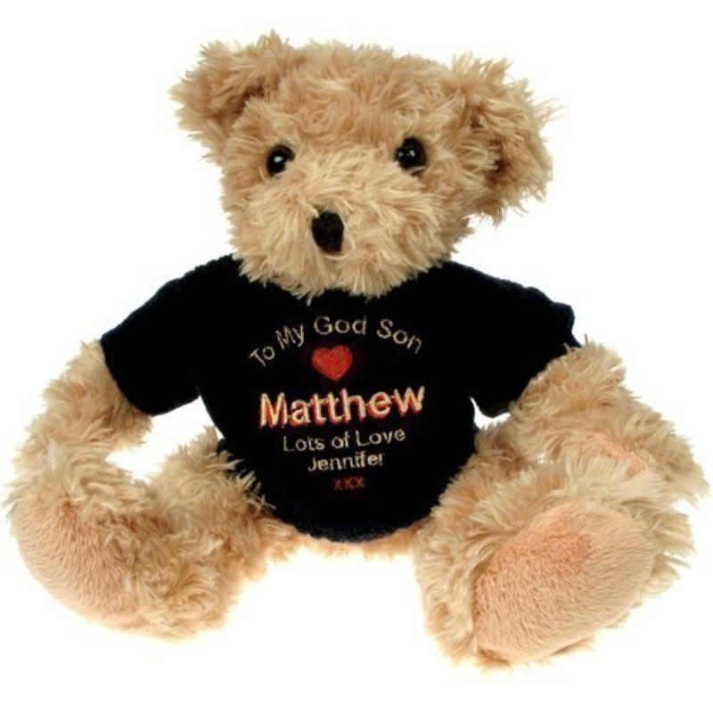 Light Brown Teddy Bear: Godson product image