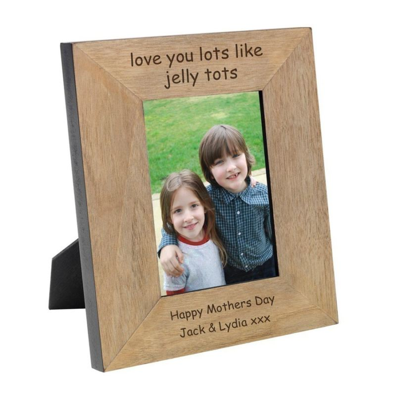 Like Jelly Tots Wood Photo Frame 6 x 4 product image