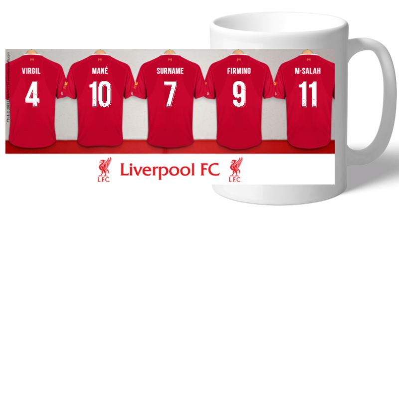 Personalised Liverpool Dressing Room Mug product image