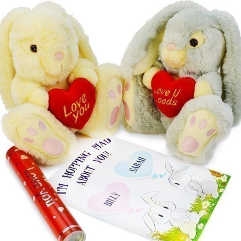 Love Bunny with Declaration of Love Scroll product image