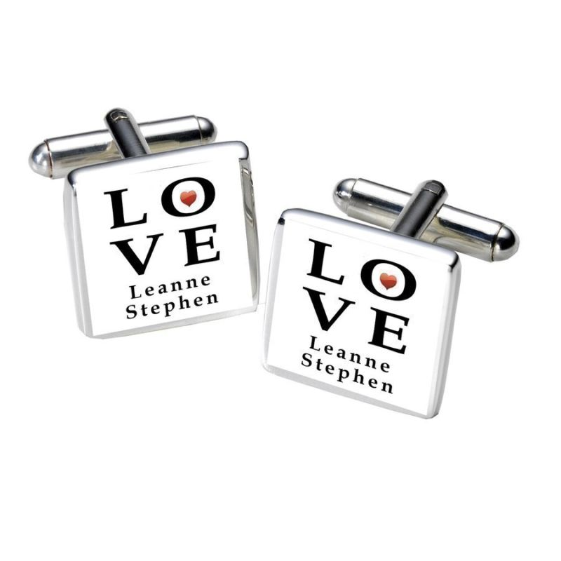 LOVE Cufflinks product image