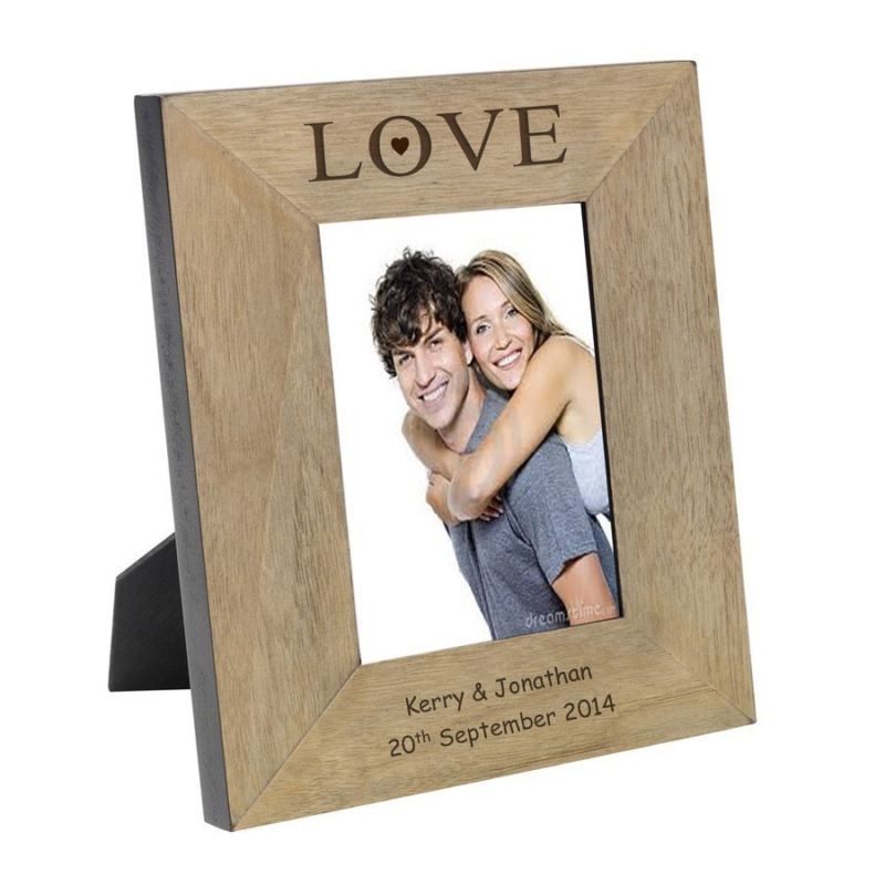 Love Wood Photo Frame 6 x 4 product image