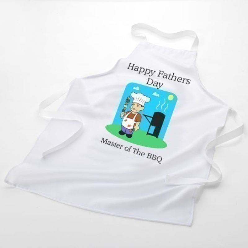 Master of the BBQ Personalised Apron product image