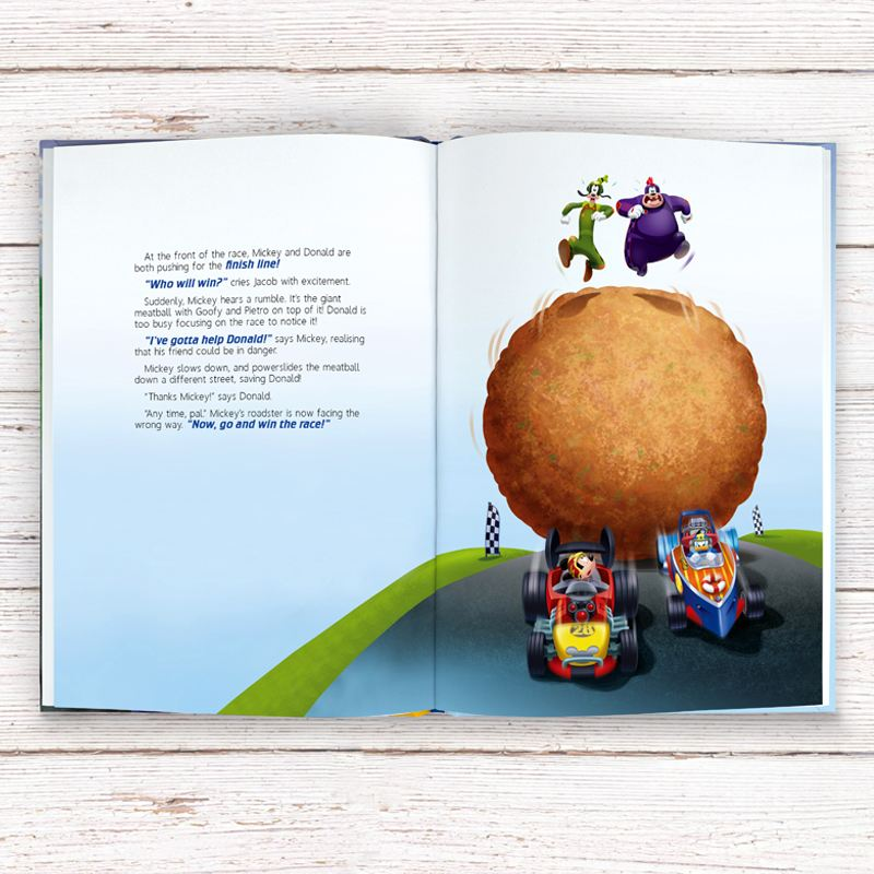 Mickey and the Roadster Racers - Personalised Disney Story Book product image