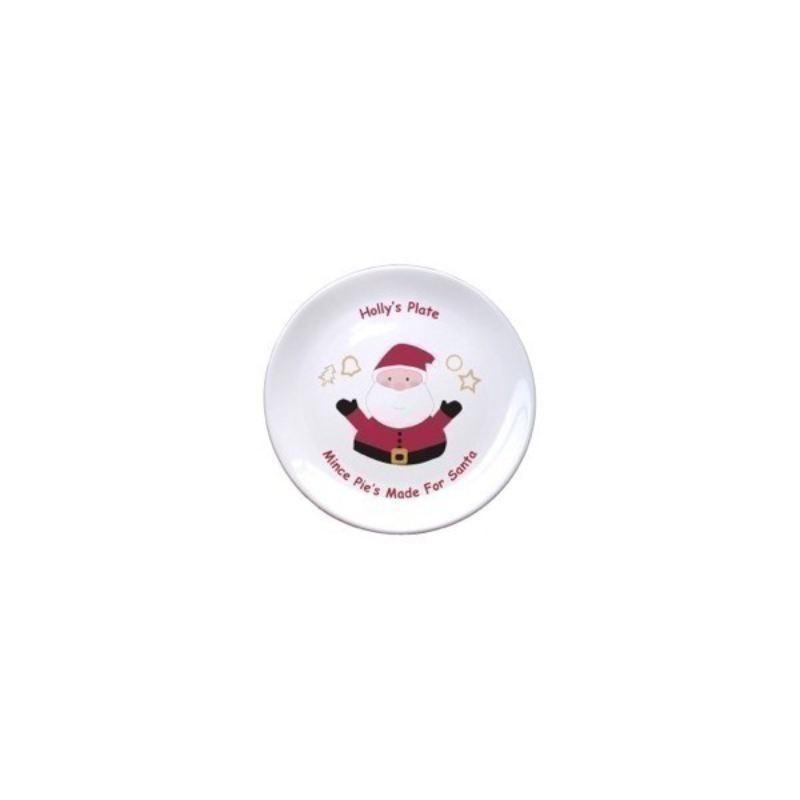 "Mince Pies for Santa 8"" Bone China Coupe Plate product image"