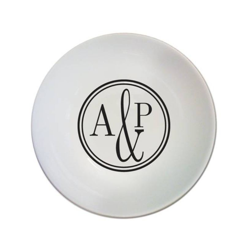 Monogram Circle Bowl product image