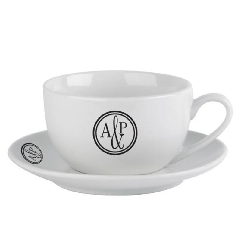 Monogram Circle Cup & Saucer product image