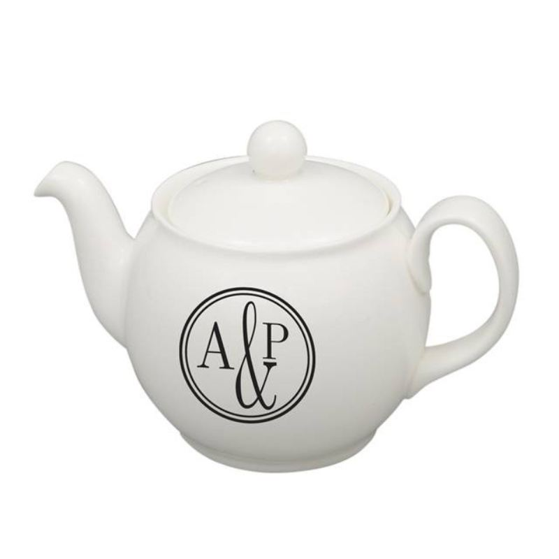 Monogram Circle Teapot product image