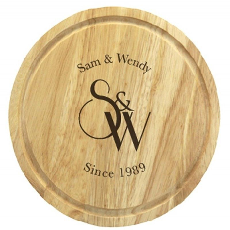 Monogram Round Chopping Board product image