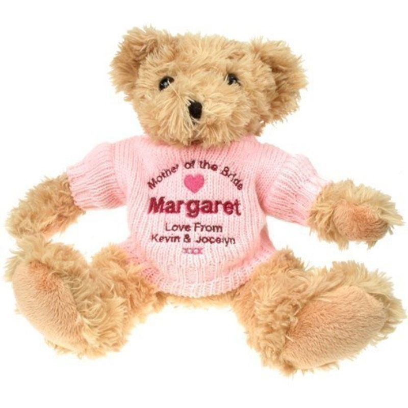 Mother Of The Bride Light Brown Teddy Bear product image