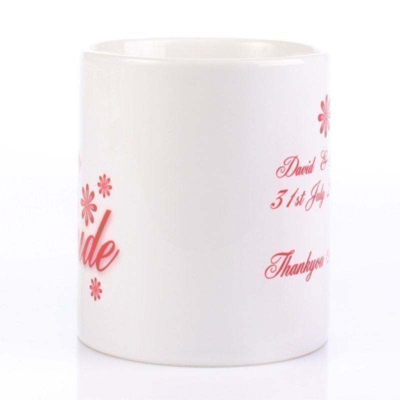 Mother Of The Bride Personalised Mug product image