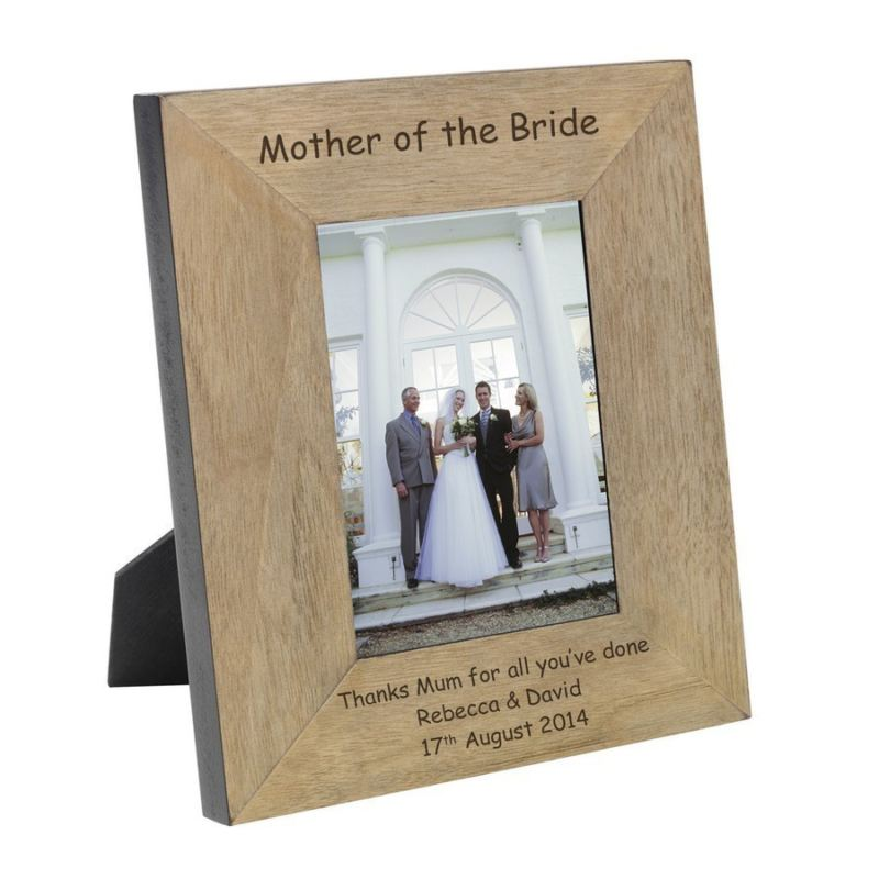Mother of the Bride Wood Photo Frame 6 x 4 product image