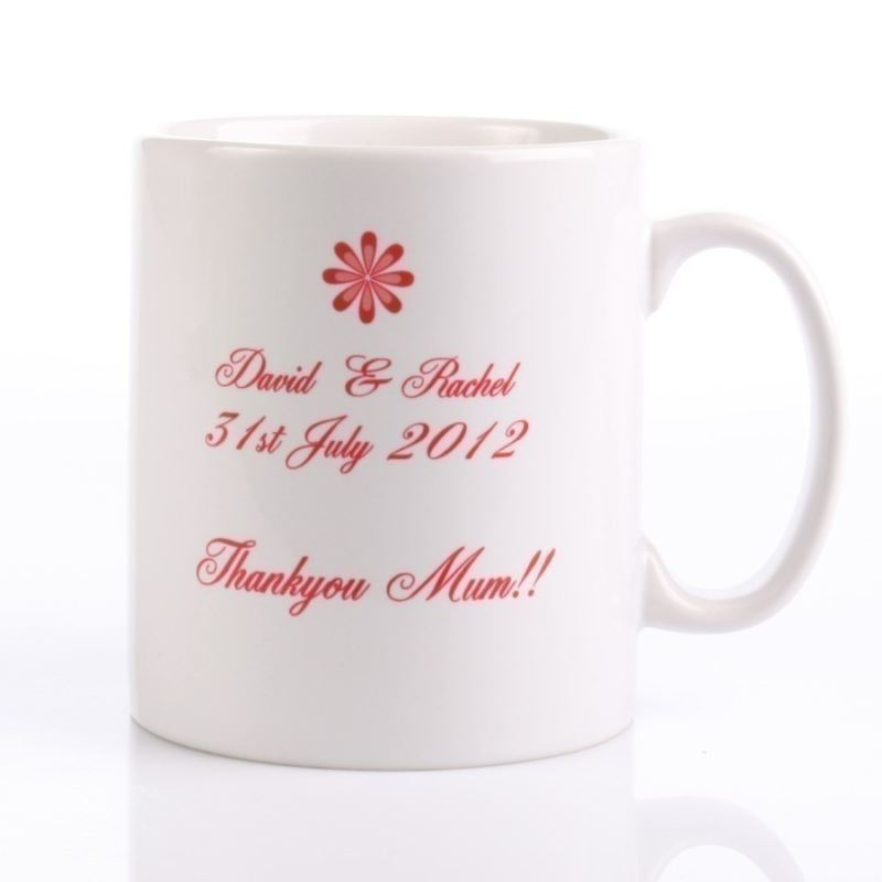 Mother Of The Groom Personalised Mug product image