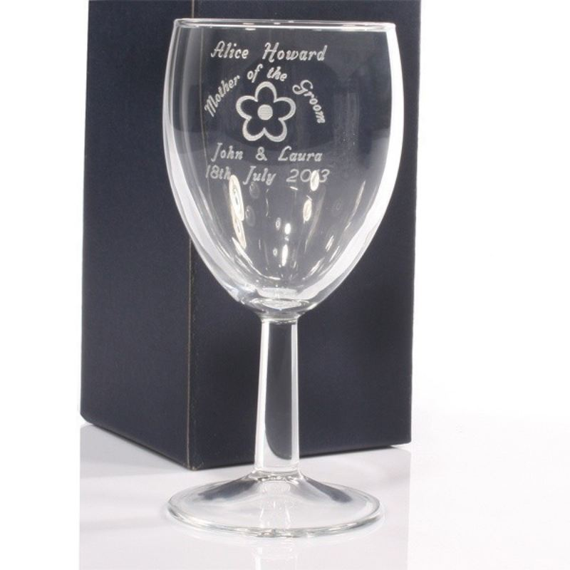 Mother Of The Groom Personalised Wine Glass product image
