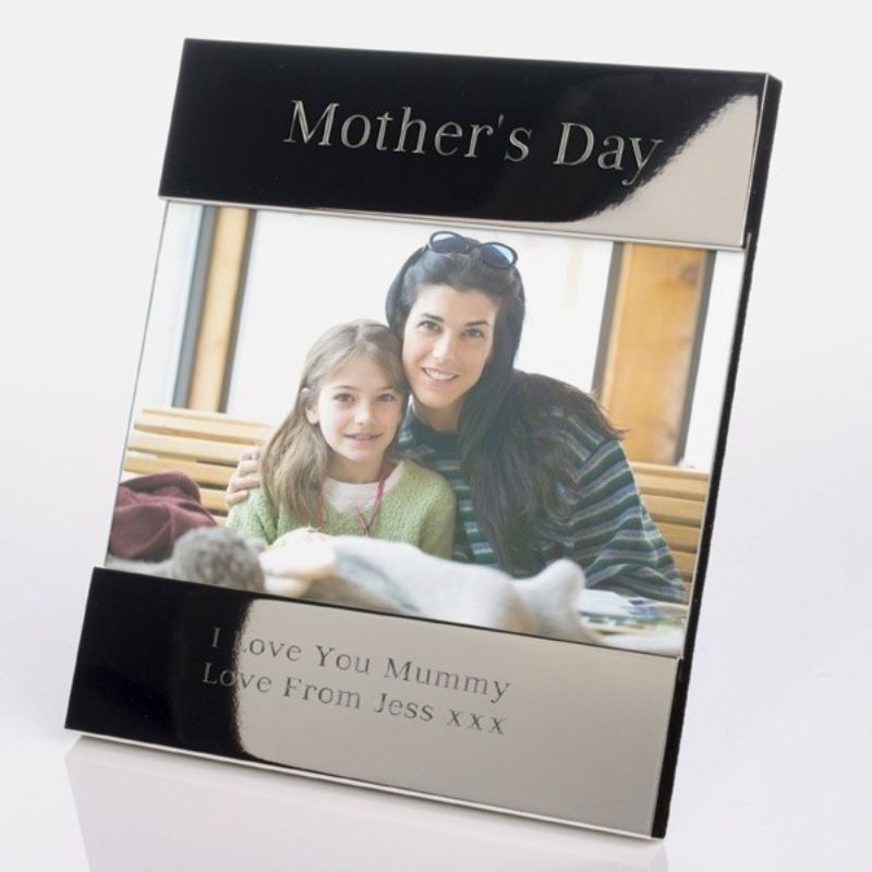 Mother's Day Shiny Silver Photo Frame product image