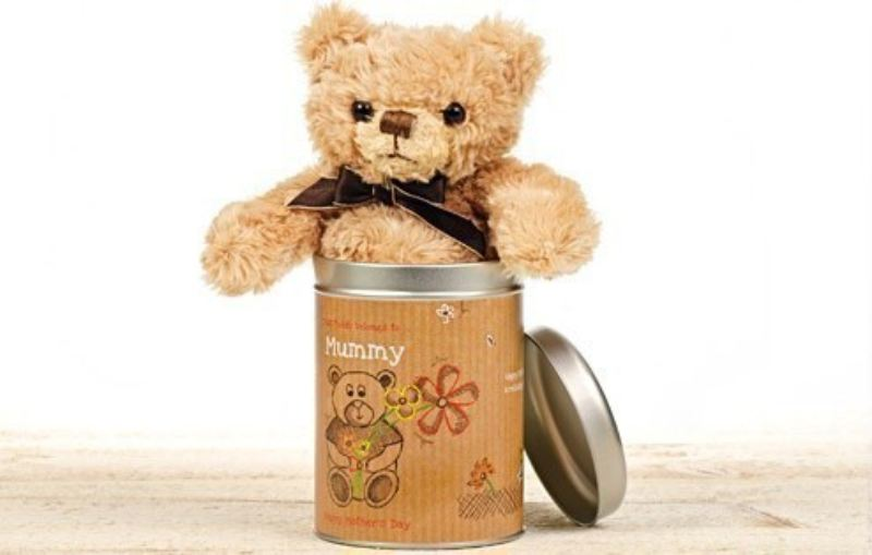 Mother's Day Teddy in a Tin - Love product image