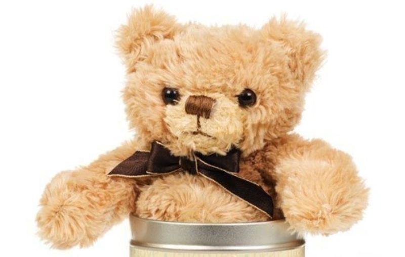 Mother's Day Teddy in a Tin - Words product image
