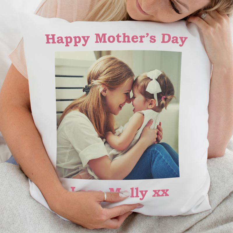 Mother's Day Personalised Photo Cushion product image