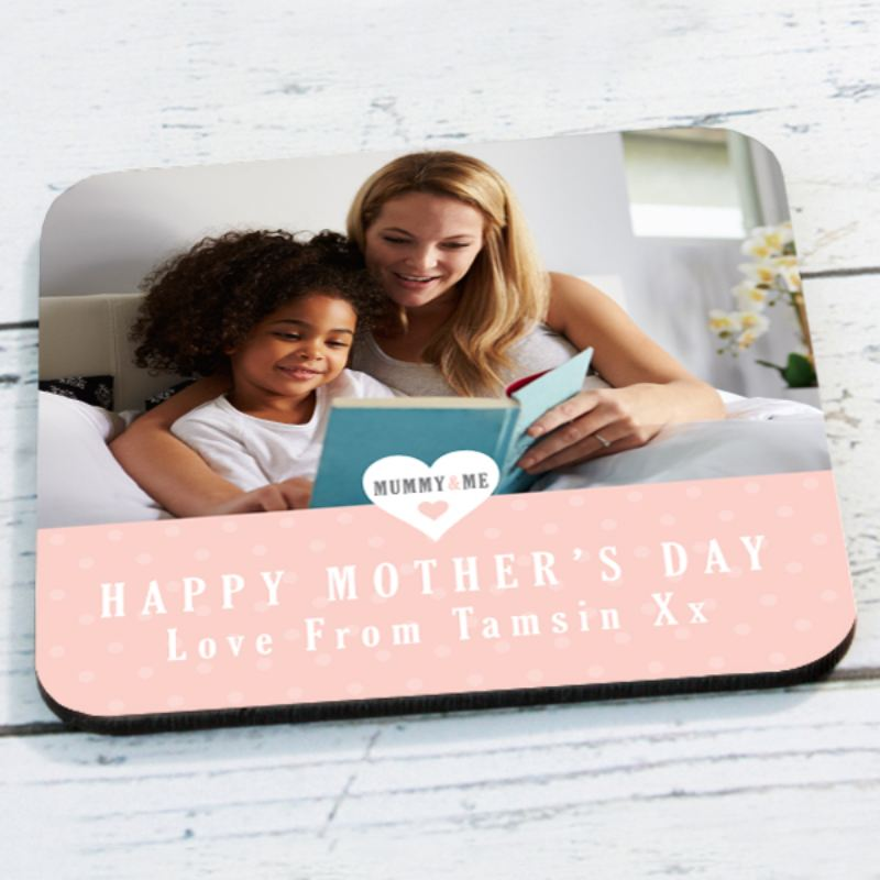 Mummy & Me Personalised Photo Coaster product image