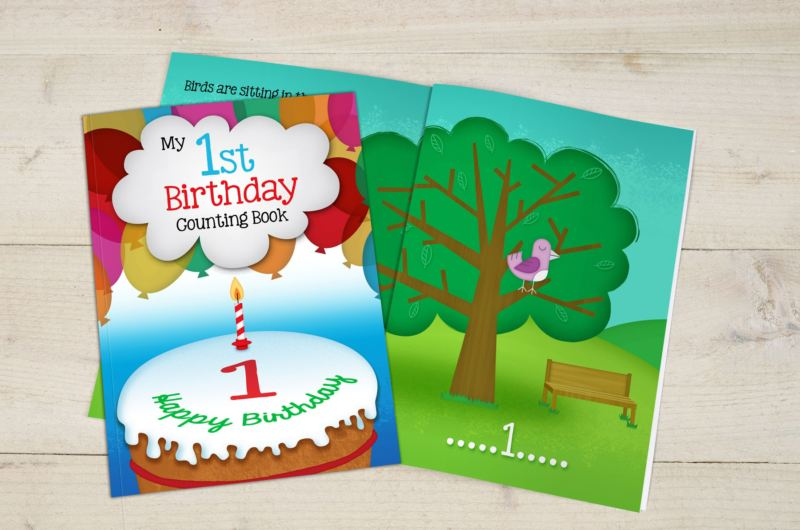 My 1st Birthday Counting Book - Softback product image