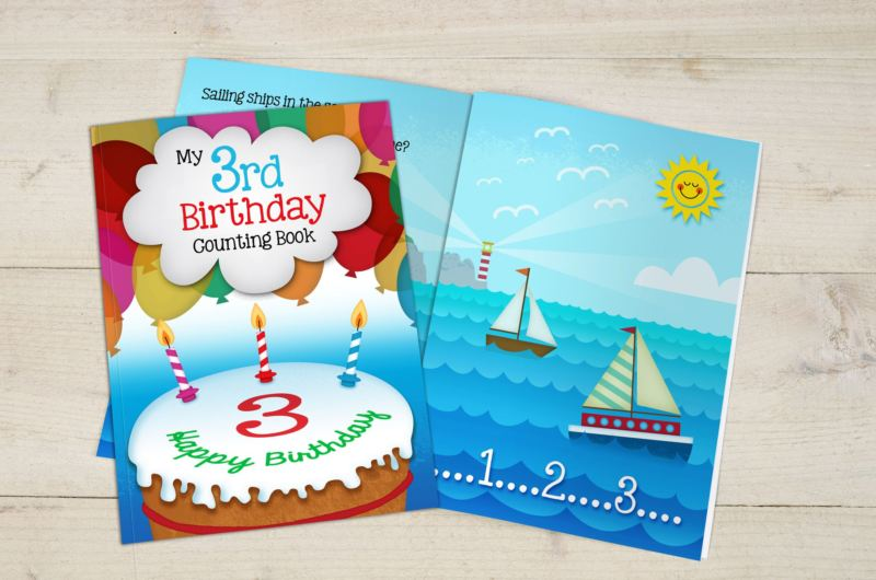 My 3rd Birthday Counting Book - Softback product image