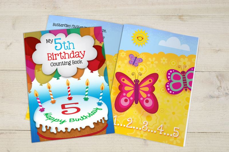 My 5th Birthday Counting Book - Hardback product image
